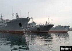Krımda Qara Dəniz Donanması - 2014