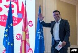 Kryeministri Zaev në konferencë pas referendumit