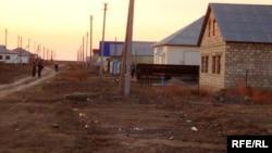 Село на западе Казахстана. Иллюстративное фото.