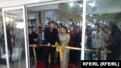 آریانا سعید مرکز تجاری لباس های افغانی را در کابل افتتاح کرد.