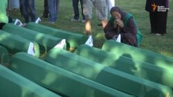 Srebrenica-Potocari Memorial Early On July 11