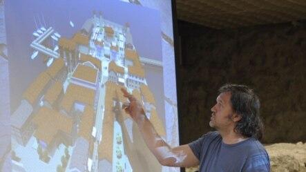 Emir Kusturica na predstavljanju projekta 'Andrićgrad', Beograd, juni 2011.