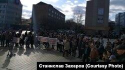 Митинг в Чите за отставку городской администрации