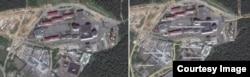 Слева - изображение Google, справа - Wikimapia.org