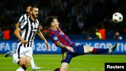 Фрагмент финала Лиги чемпионов 2015 года