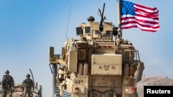US troops in northern Syria