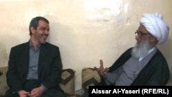 الشيخ بشير النجفي يستقبل السفير الايراني في العراق