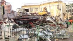 Moscow Destroys About 100 Businesses in Beautification Blitz