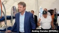 Губернатор Краснодарского края Ткачев инспектирует спецприемник для нелегальных мигрантов