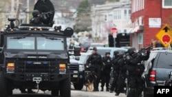 Царнаевни қўлга олиш амалиётида минглаб полициячи иштирок этгани айтилмоқда