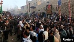 تصویری از برگزاری مراسم روز عاشورا در کابل