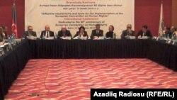 Bakıda beynəlxalq konfrans - 10 dekabr 2010
