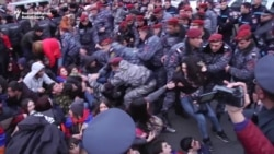 Fifth Day Of Protests In Armenia Over Activist Death