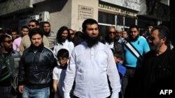 Ахмед Муса пред Пазарджишкия окръжен съд през 2014 г.