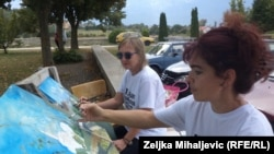 Sudionice iz Hrvatske: Tea Paškov i Erika Medanić