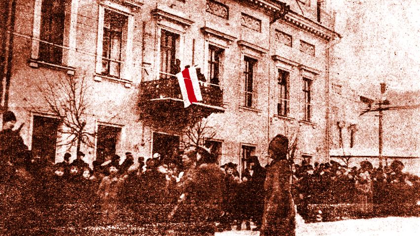 Колькі беларускамоўных школ было ў 100-тысячным Менску у 1918/19 навучальным годзе (пры БНР)?
