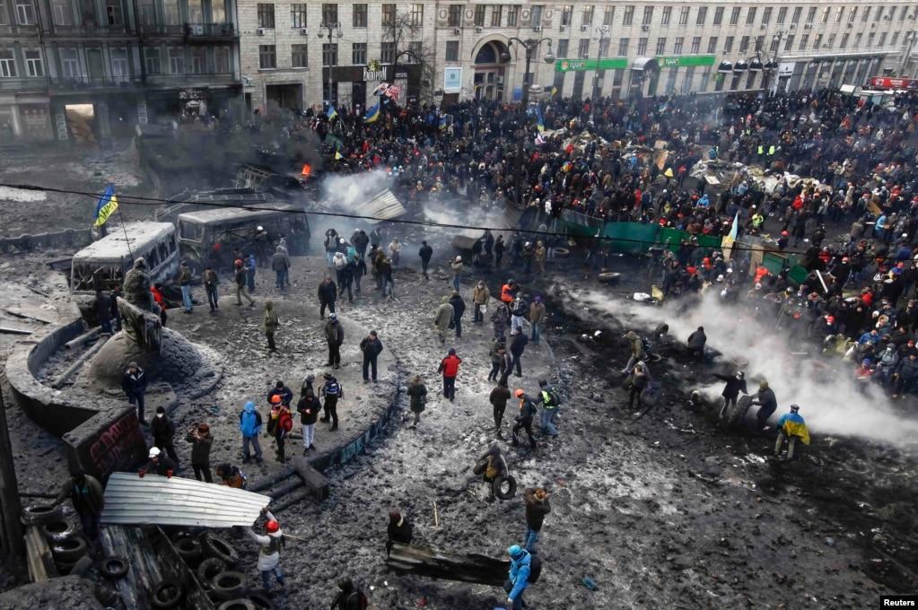 The Evolution Of Euromaidan