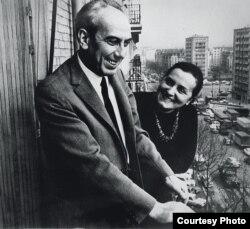 Artur și Lise London după stabilirea lor la Paris