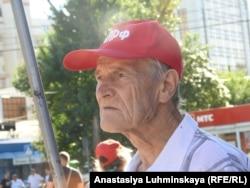 Митинг против повышения пенсионного возраста в Саратове, 3 июля 2018 г.