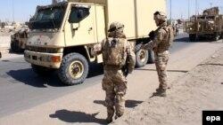 Британски војници во Ирак.