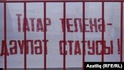 Уфа татарлары ана телен яклап урамга чыкты