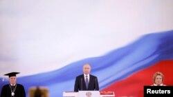 Путиндин ант берүү салтанаты. 7-май, 2018-жыл