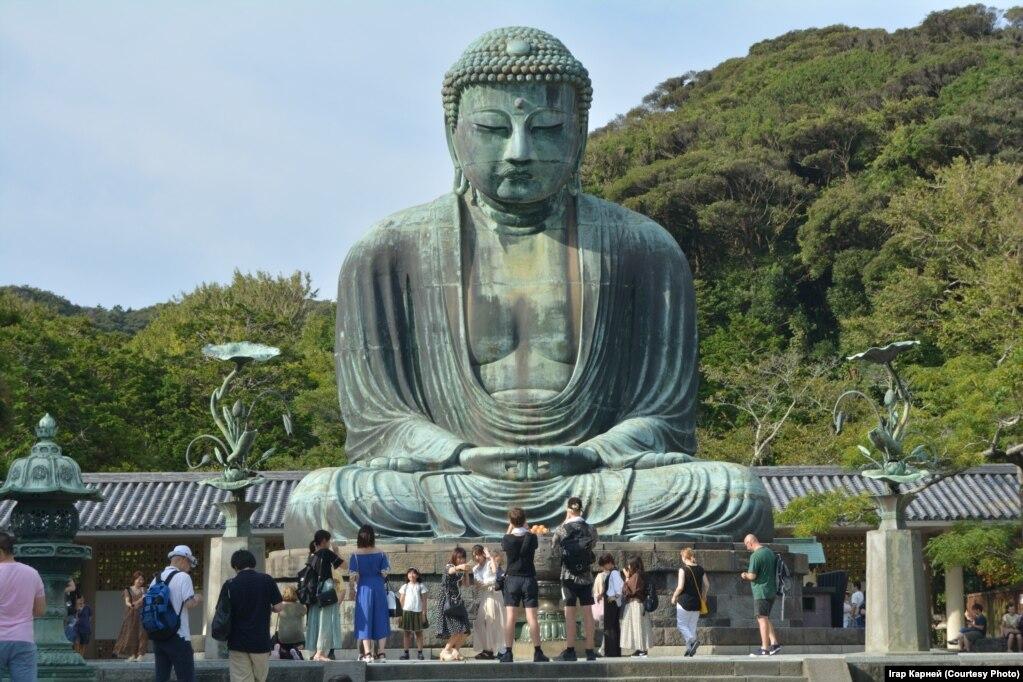 13-мэтровы Будда ў Камакуры