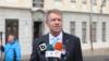 Președintele României Klaus Iohannis a anunțat că va candida pentru un al doilea mandat (VIDEO)