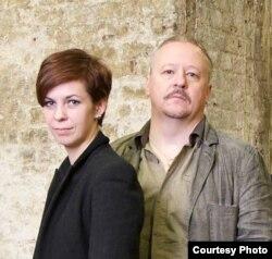 Натальля Каляда і Мікалай Халезін. Фота: Belarus Free Theatre