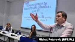Vladimir Pandurević, projekt menadžer EIDHR (Evropski instrument za demokratiju i ljudska prava), Sarajevo, 27. januar 2011.