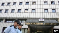 دادگاه قانون اساسی ترکیه در آنکارا