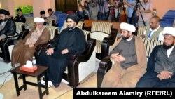 رجال دين يحضرون إجتماعاً مع قيادات أمنية في البصرة