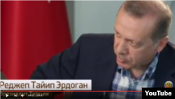 President Recep Tayyip Erdogan in a recent television interview.