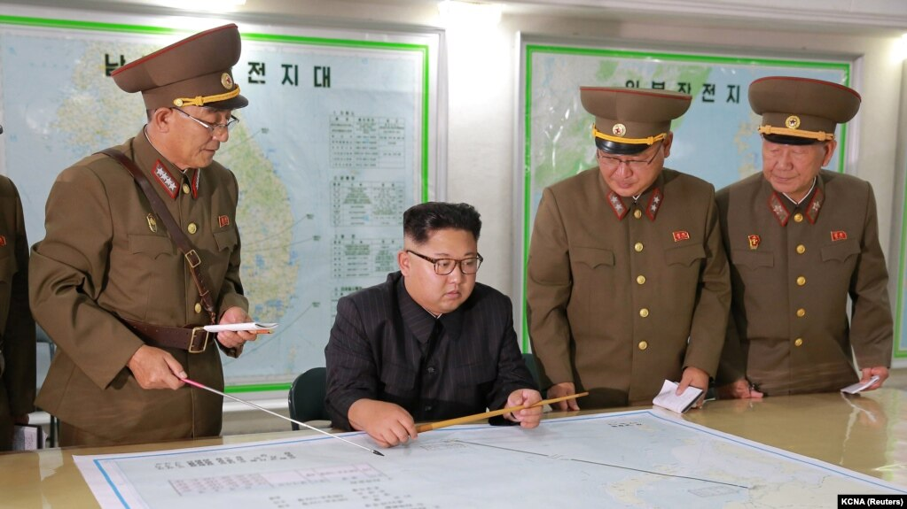 مقامات کره شمالی بمب اتم تحریم