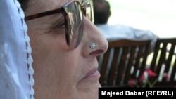 Pakistan -- Begum Nasim Wali Khan in Wali Bagh Charsad, 2002