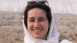 Environmentalist Niloufar Bayani is believed to have been held in Iran's notorious Evin prison since early 2018. (file photo)