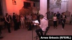 Muzički program tokom svečanog otvaranja izložbe