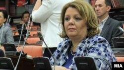 Специјалната јавна обвинителка Катица Јанева, на Седница на собраниската Комисија за политички систем и односи меѓу заедниците - архива