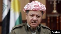 Лидерот на ирачкиот курдски регион Масуд Барзани