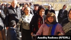 Şirvan rayonu, əlil ailələrin görüşü