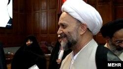 عباسعلی علیزاده، رئیس وقت دادگستری استان تهران