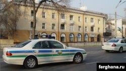 Uzbekistan - Police in Tashkent, 12May2010