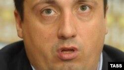 Лідер Всеросійського об'єднання вболівальників Олександр Шпригін