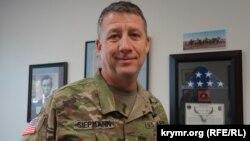 Полковник Национальной гвардии штата Калифорния Джон Сиэпмен