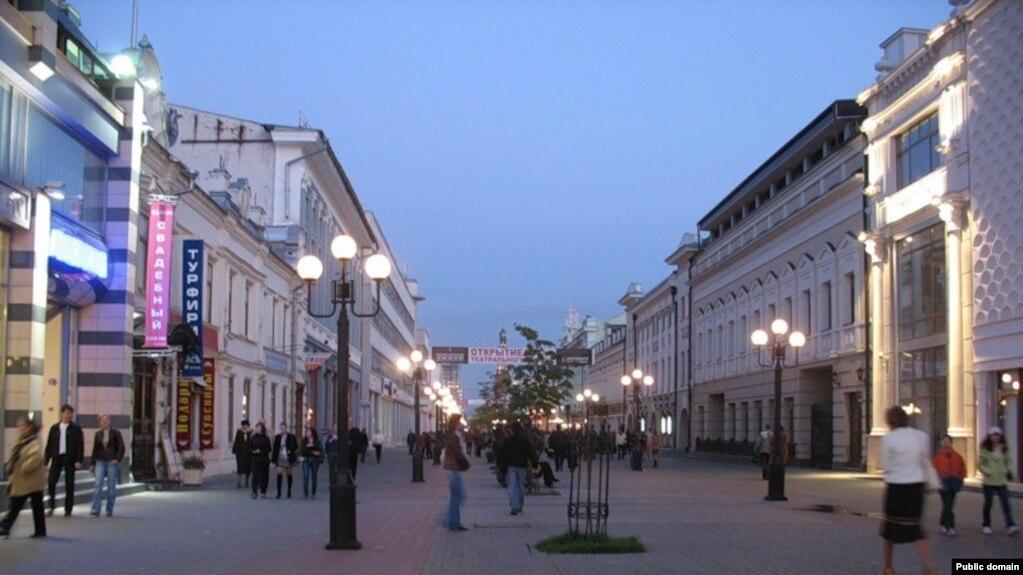 Казандагы Бауман урамы