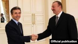Bidzina Ivanishvili and Ilham Aliyev