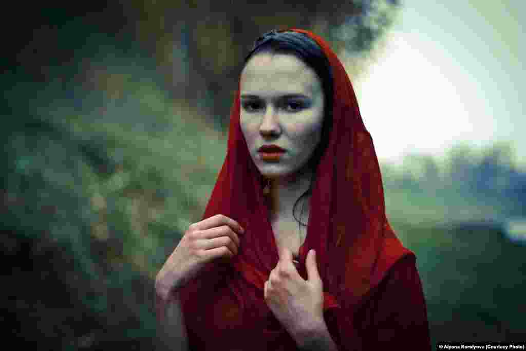 Photographer Alyona Korolyova of Russia was selected in the Portraiture category.