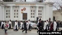 Хресна хода в Севастополі, 7 січня 2016 року