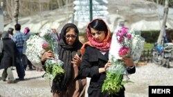 نمایی از بازار گل تهران - عکس تزئینی است