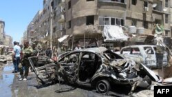 Zona ku ka ndodhur sulmet e sotme - Damask